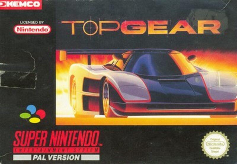 Top Gear 1 Super Nintendo Bild
