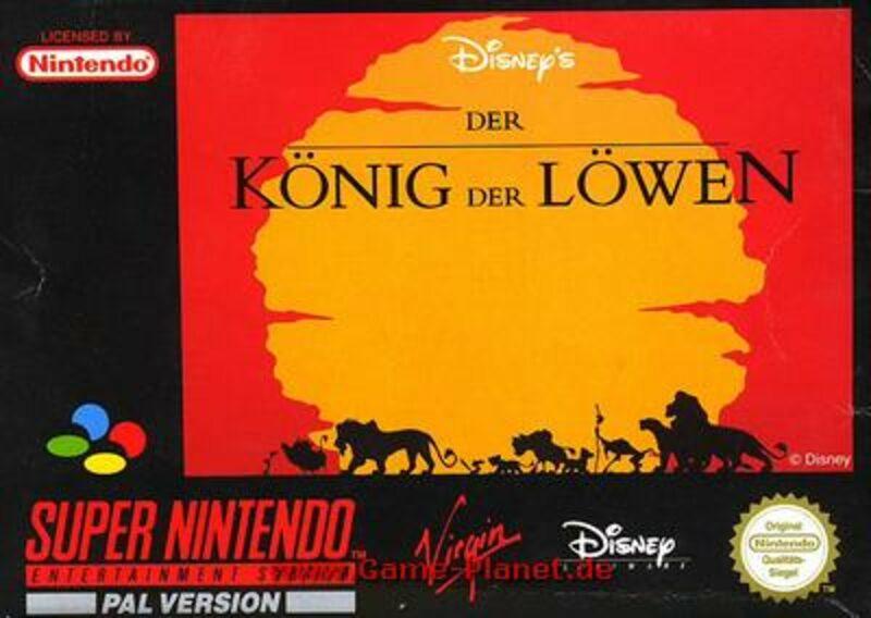 Der König der Löwen Super Nintendo Bild