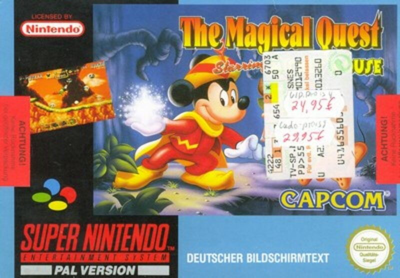 The Magical Quest Starring Mickey Mouse Super Nintendo Bild