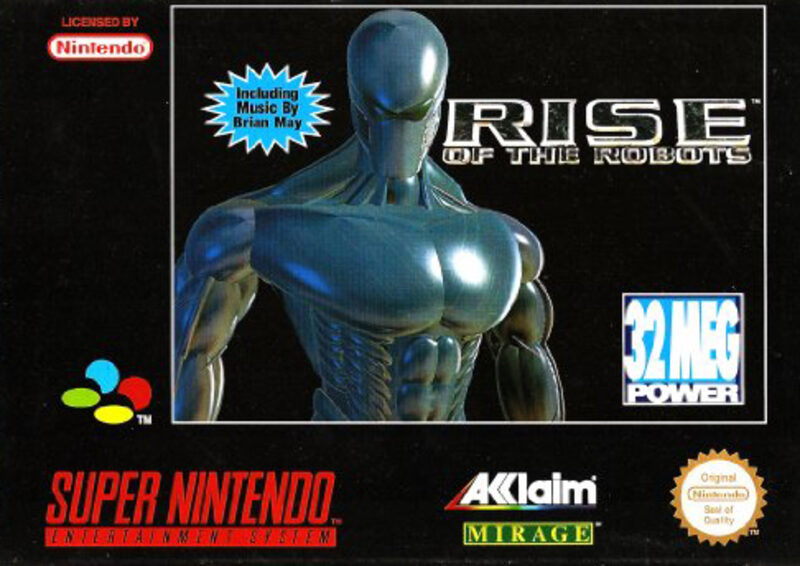 Rise of the Robots Super Nintendo Bild