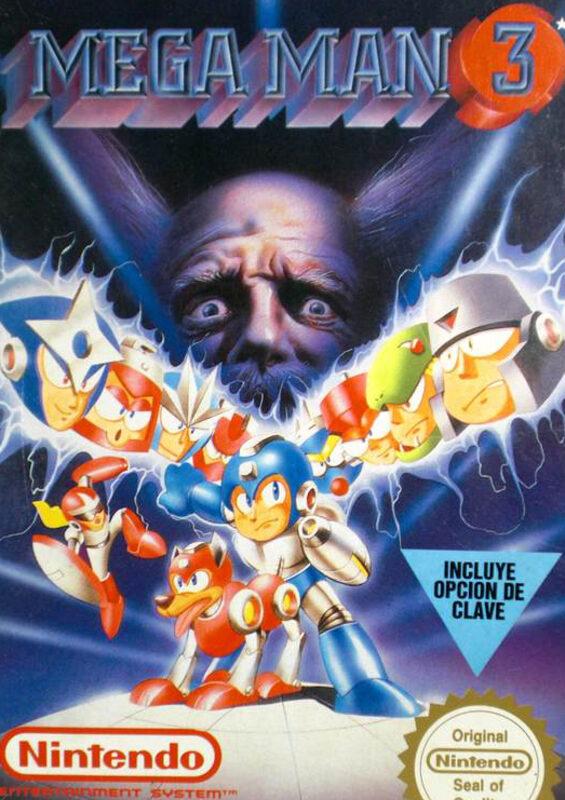 Mega Man 3 (III)  Bild