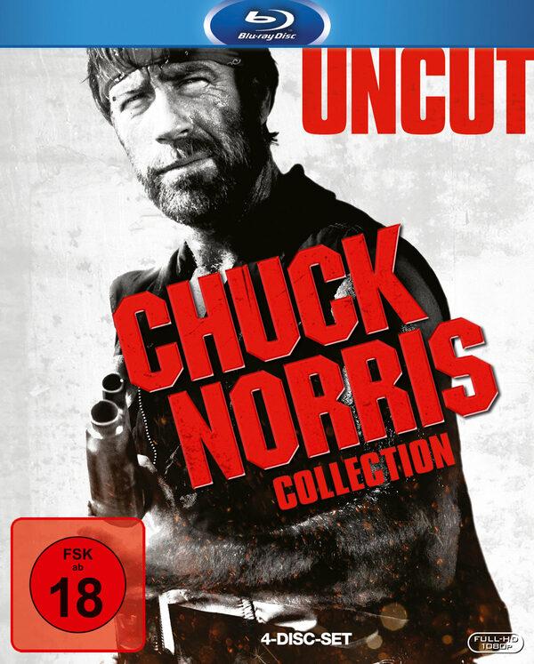 Chuck Norris - Box - Uncut  [4 BRs] Blu-ray Bild