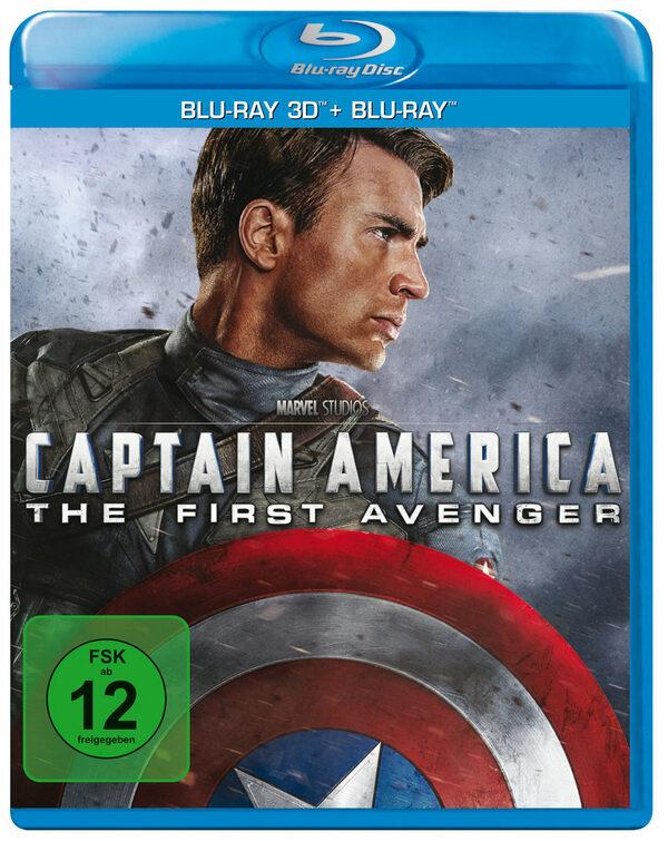 Captain America - The First Avenger  (+ BR) Blu-ray Bild