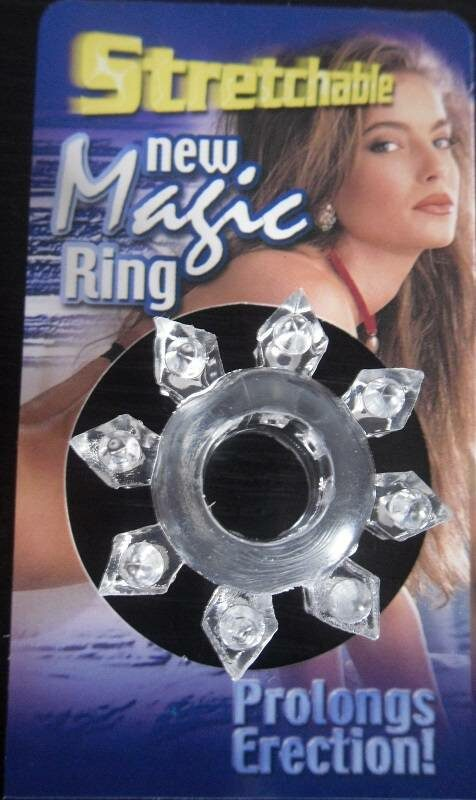 Stretchable New Magic Ring, klar Toys Bild