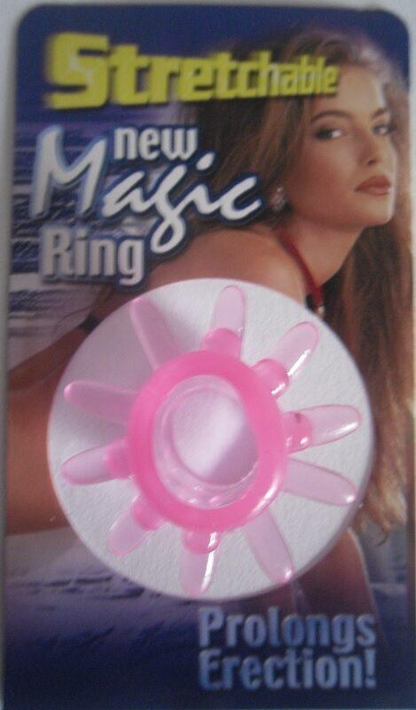 Stretchable New Magic Ring, pink Toys Bild