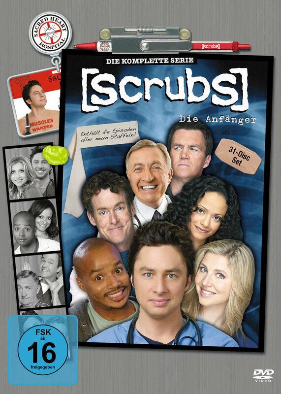 Scrubs - Die Anfänger - Staffel 1-9  [31 DVDs] DVD Bild