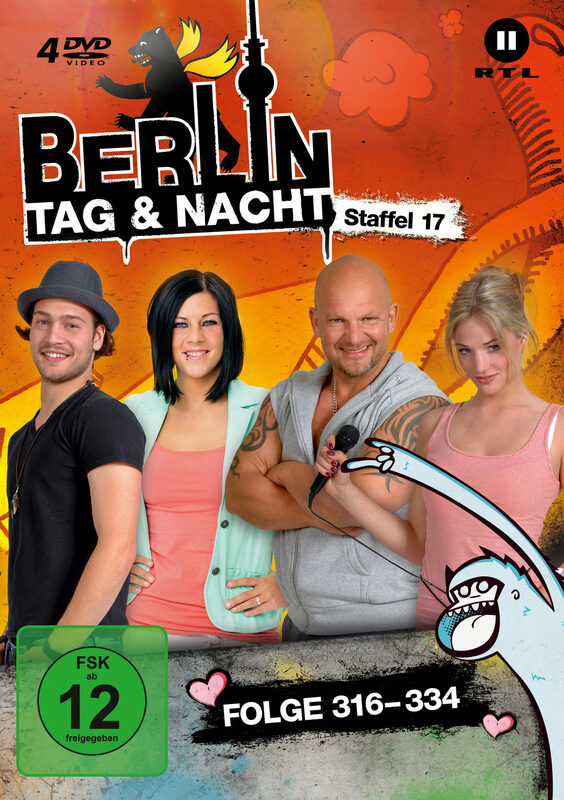 Berlin - Tag & Nacht - Staffel 17  [4 DVDs] DVD Bild