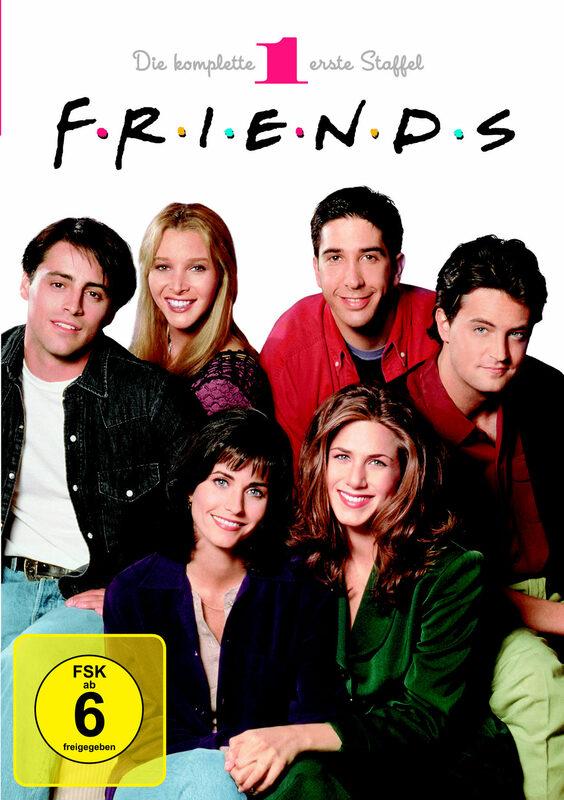 Friends - Box Set / Staffel 1  [4 DVDs] DVD Bild
