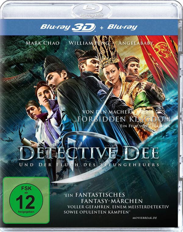 Detective Dee und der Fluch...  (inkl. 2D-Vers.) Blu-ray Bild