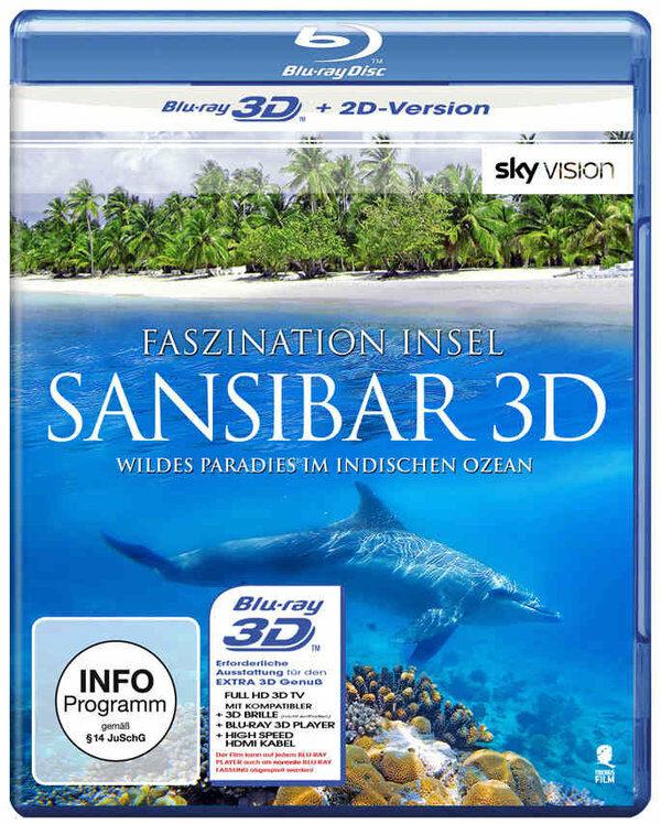 Faszination Insel - Sansibar  (inkl. 2D-Version) Blu-ray Bild