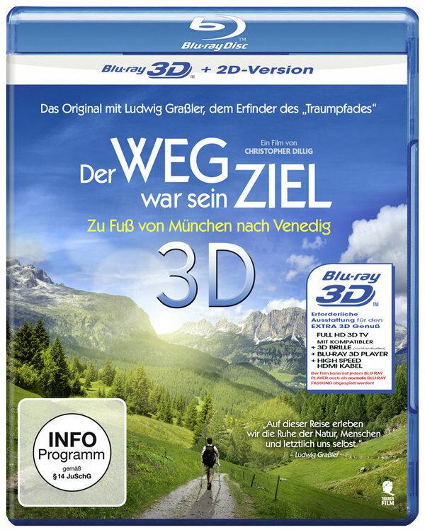 Der Weg war sein Ziel - Zu Fuß von München... Blu-ray Bild