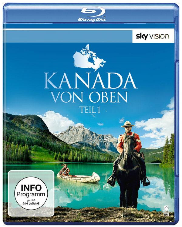 Kanada von Oben - Teil 1 Blu-ray Bild