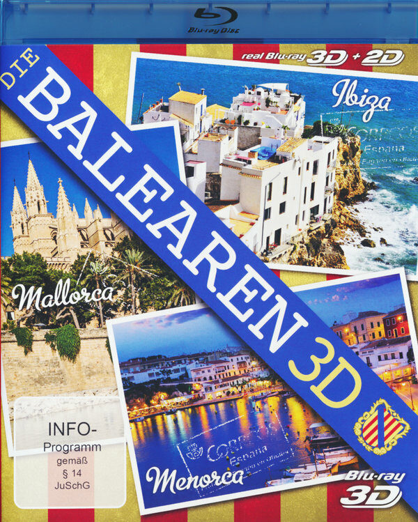 Die Balearen 3D  (inkl. 2D-Version) Blu-ray Bild