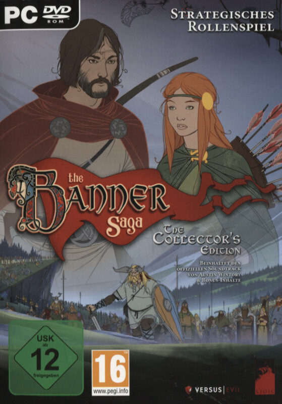 The Banner Saga - Collectors Edition PC Bild