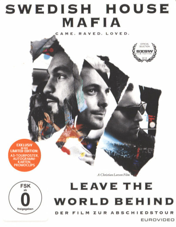 Swedish House Mafia - Leave The World Behind Blu-ray Bild