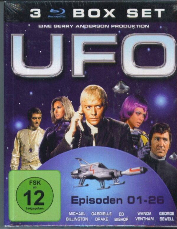 UFO - 3 Box Set Blu-ray Bild
