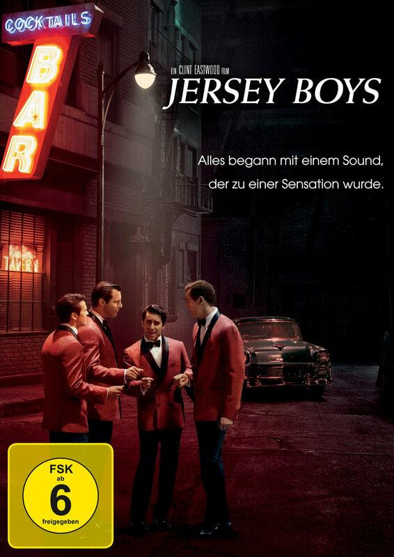 Jersey Boys DVD Bild