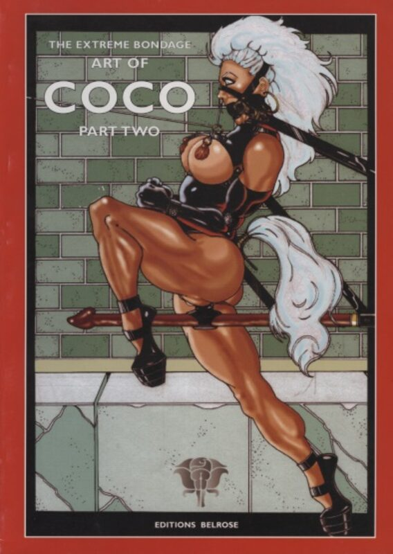 The Extreme Bondage Art of Coco Part 2 Comic Bild