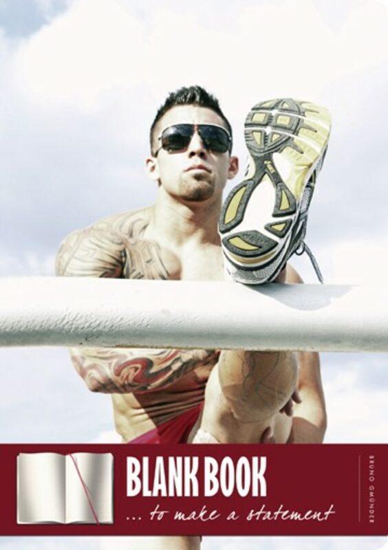Blank book - Sneax Gay Buch / Magazin Bild