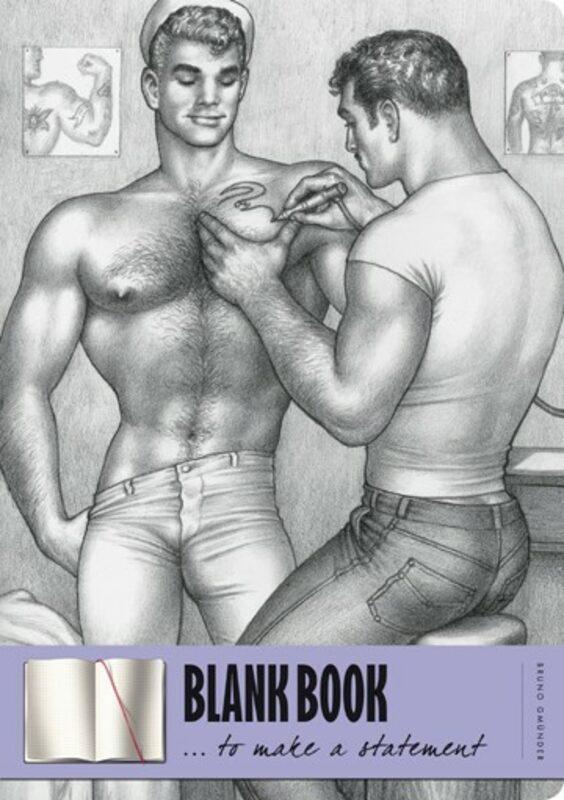 Blank book - Tom of Finland Gay Buch / Magazin Bild