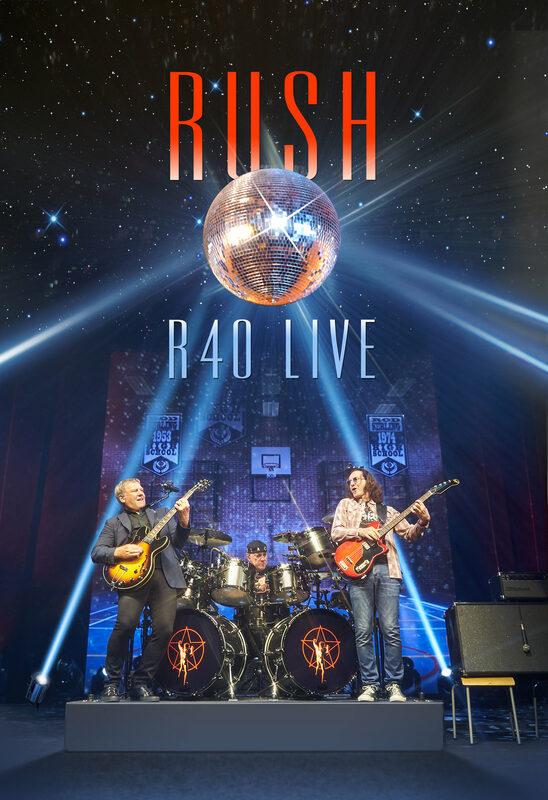 Rush - R40 Live Blu-ray Bild