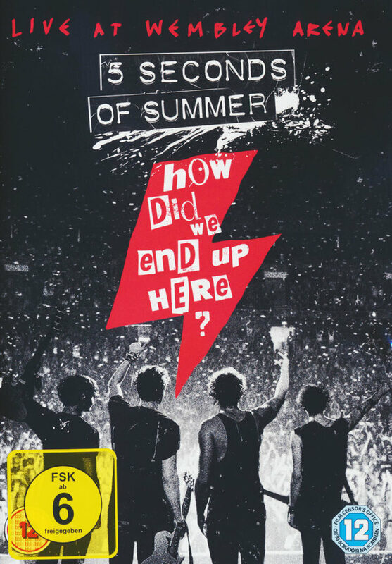 5 Seconds of Summer- How Did We End Up Here? DVD Bild