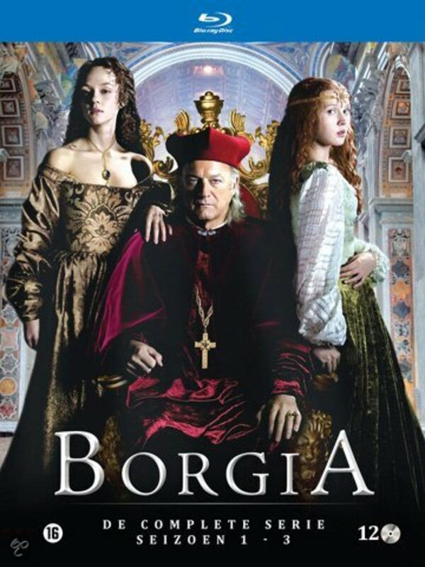Borgia - Complete Series 1-3 - 10-Disc Box Set NL Blu-ray Bild
