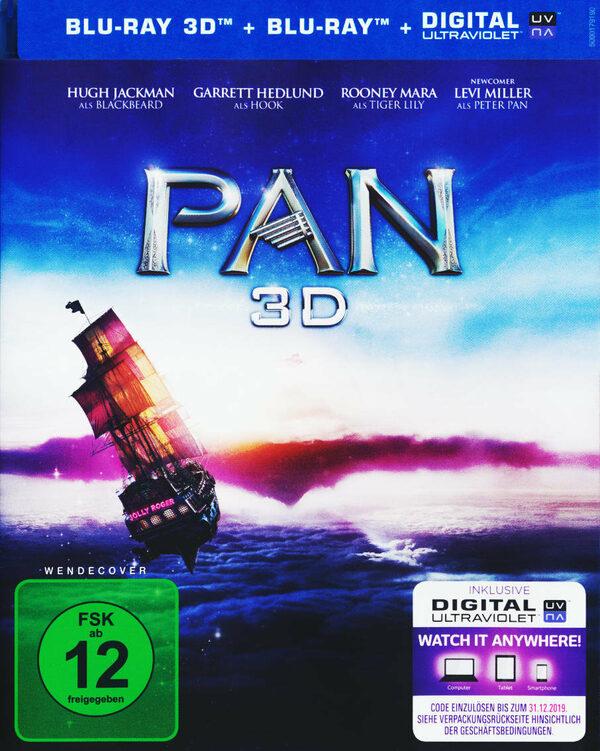 Pan  (+ BR) Blu-ray Bild