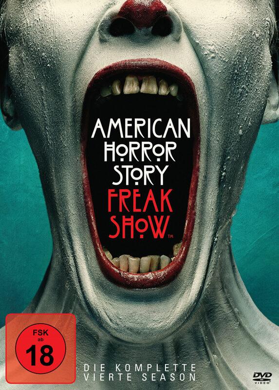 American Horror Story - Season 4  [4 DVDs] DVD Bild
