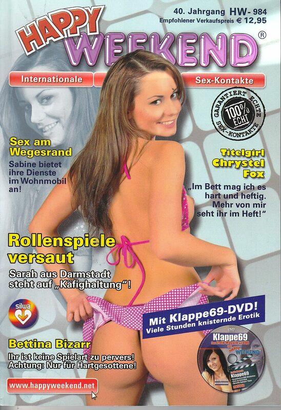 Happy Weekend 984 Magazin + DVD Magazin DVD-Magazin Bild