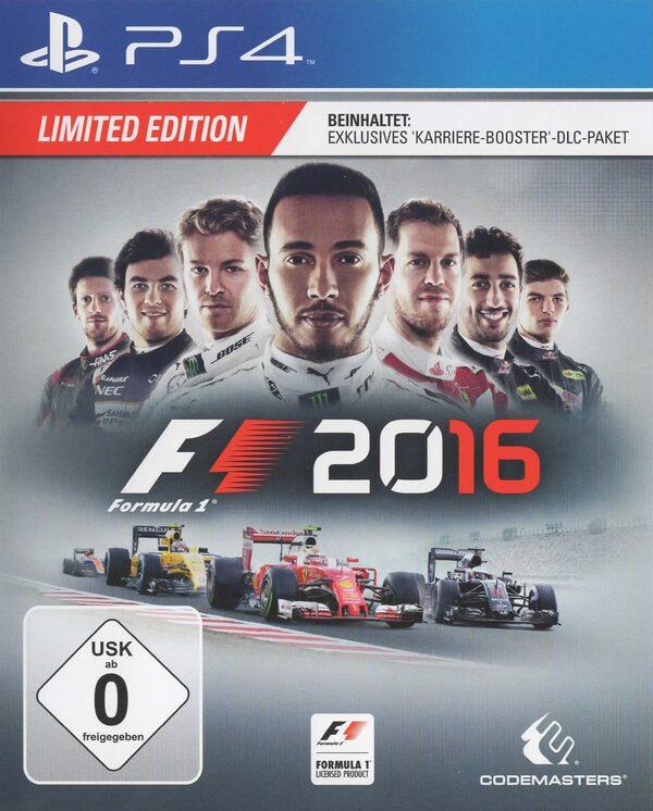 F1 2016 (Limited Edition) Playstation 4 Bild