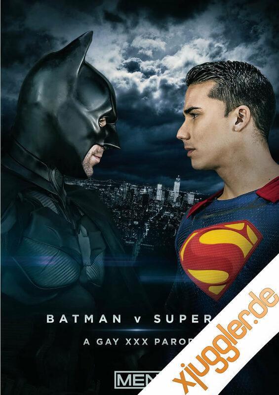 Batman Vs Superman Xxx Gay Parody Gay DVD Bild