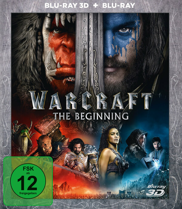 Warcraft: The Beginning  (+ BR) Blu-ray Bild