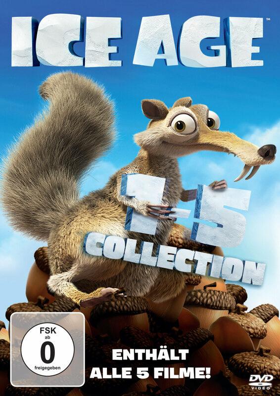 Ice Age - Box Set Teil 1-5  [5 DVDs] DVD Bild