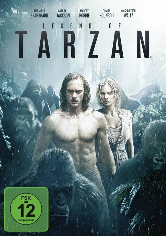 Legend of Tarzan DVD Bild