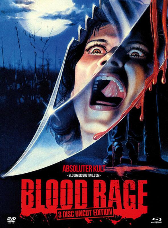 Blood Rage - Uncut/Mediabook (+ 2 DVDs) [LE] Blu-ray Bild