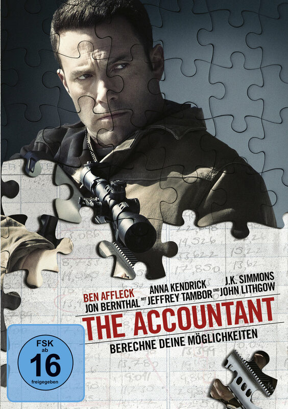 The Accountant DVD Bild