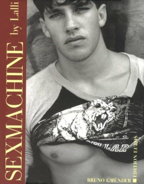 Sex Machine Gay Buch / Magazin Bild