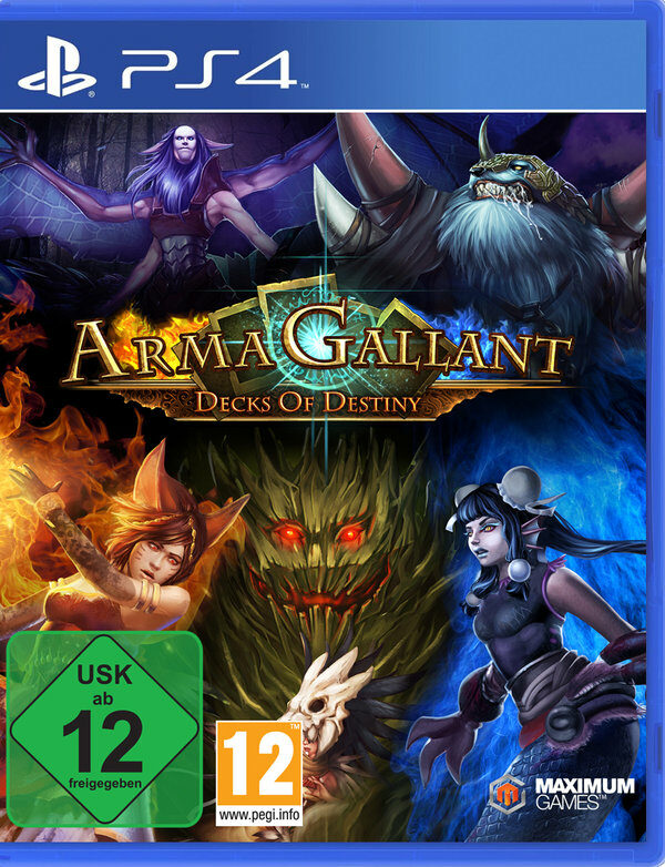 ArmaGallant - Decks of Destiny Playstation 4 Bild