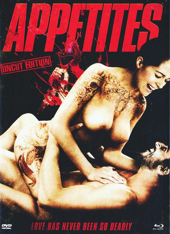 Appetites - Uncut / Mediabook  (+ DVD) [LE] Blu-ray Bild