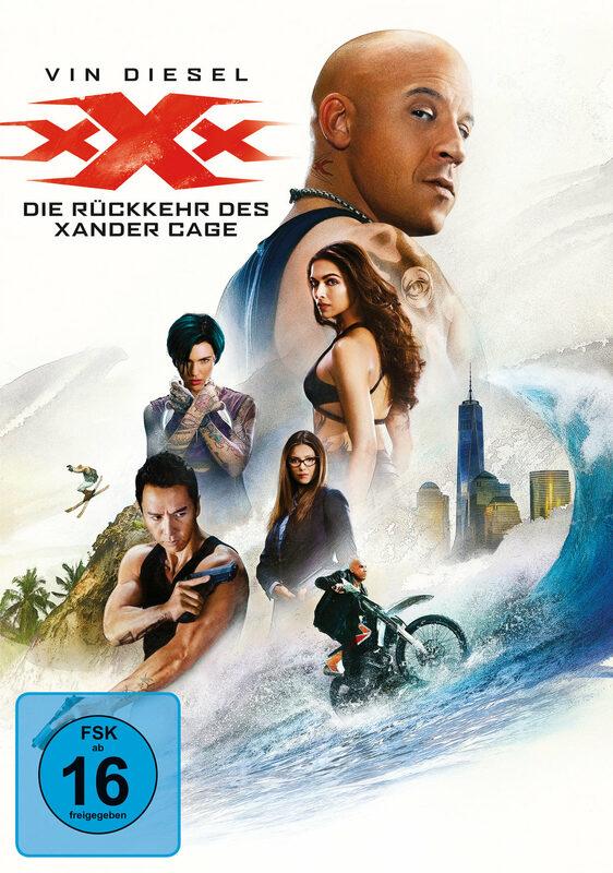 xXx - Die Rückkehr des Xander Cage DVD Bild