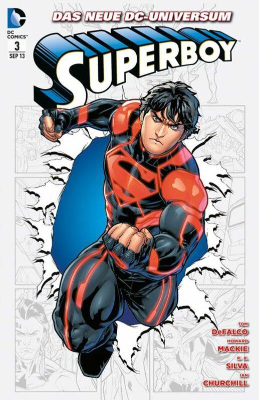 Superboy 3: Klonkrieger Comic Bild