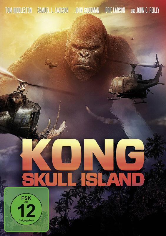 Kong: Skull Island DVD Bild