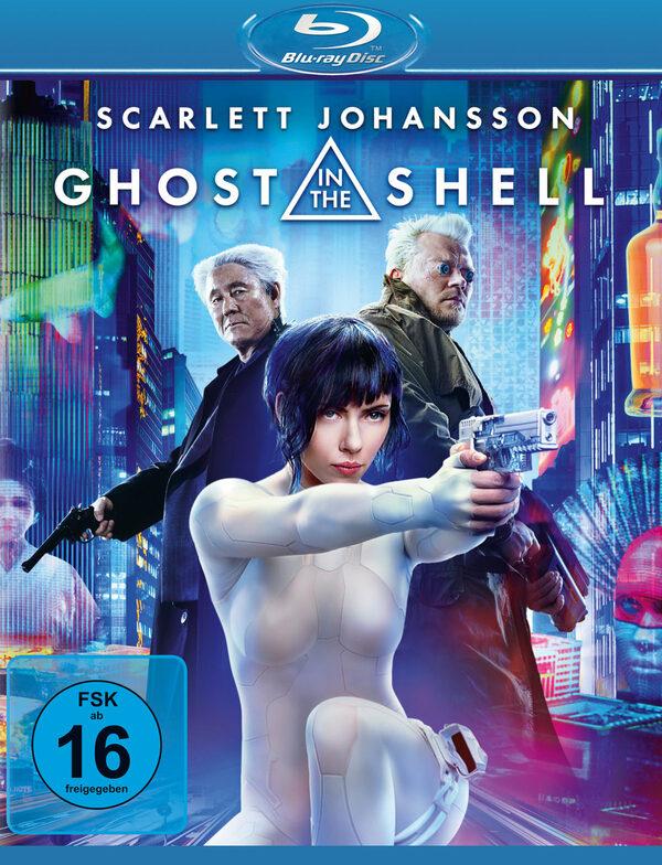 Ghost in the Shell Blu-ray Bild