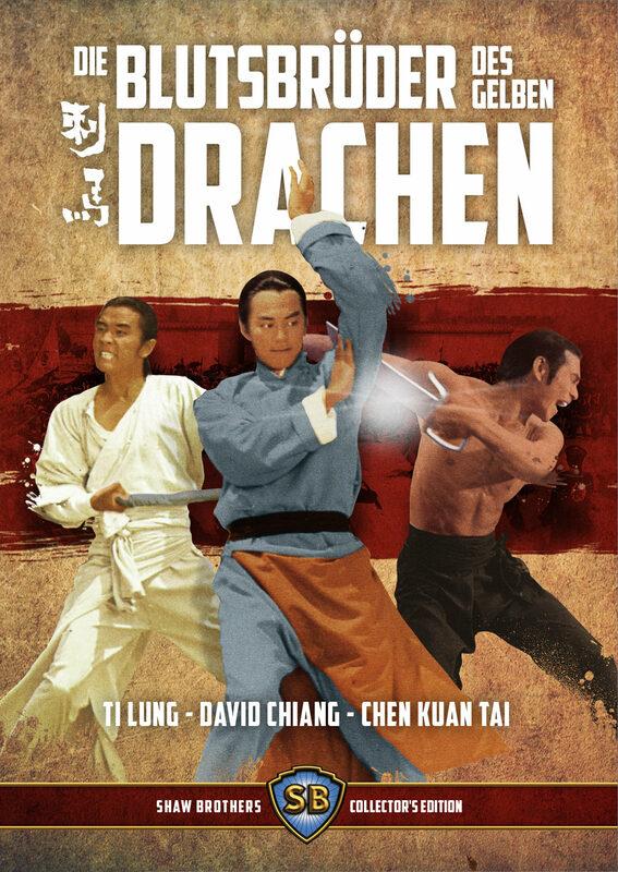 Die Blutsbrüder des gelben Drachen  (+ DVD) Blu-ray Bild