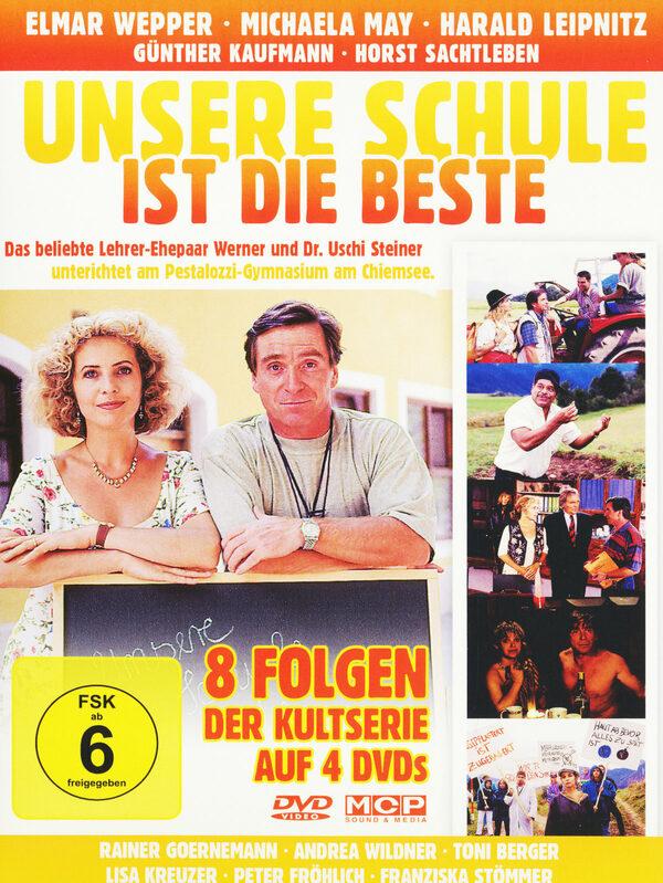 Unsere Schule ist die Beste - Staffel 1/Ep.1-8 DVD Bild