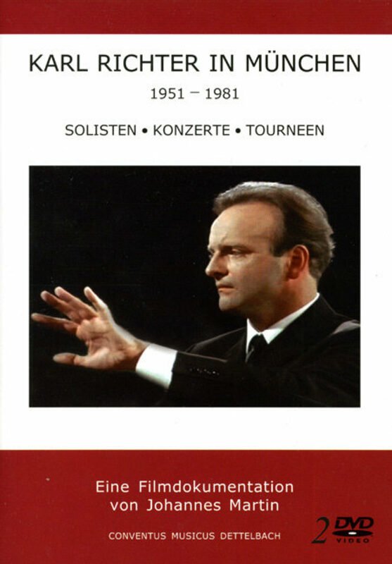 Karl Richter in München - Soliten ...  [2 DVDs] DVD Bild