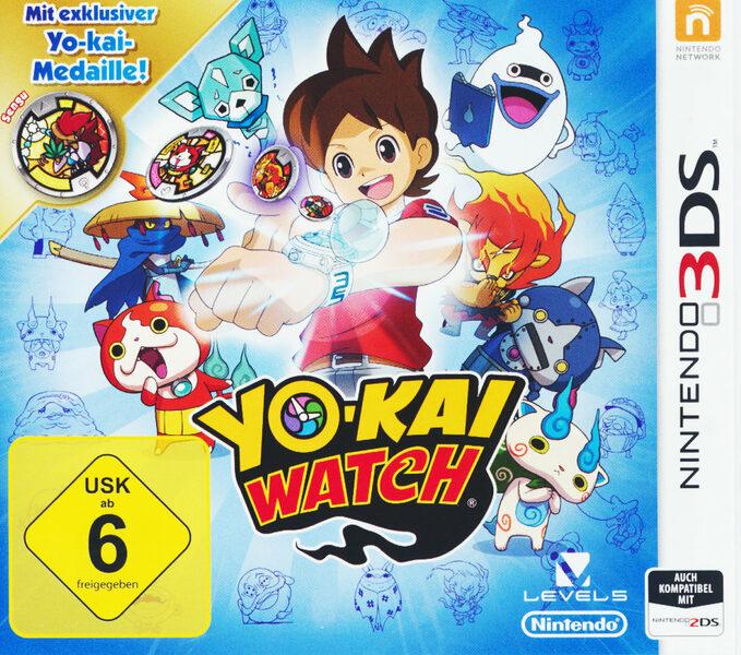 Yo-Kai Watch Special Edition inkl. Medaille Nintendo 3DS Bild