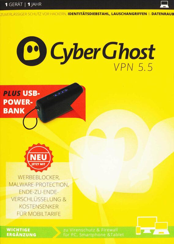 CyberGhost VPN 5.5 - Special Edition PC Bild
