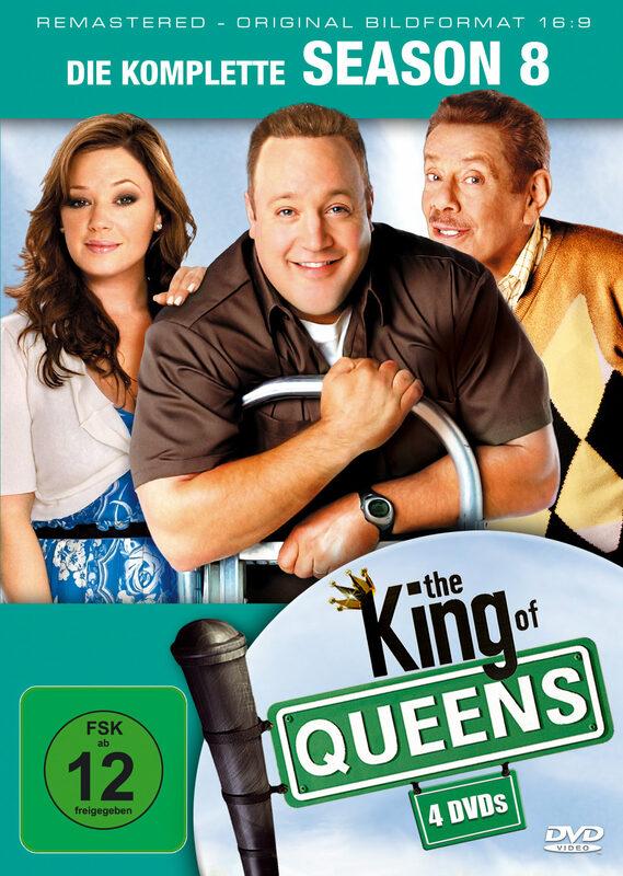 King of Queens - Season 8  [4 DVDs] DVD Bild